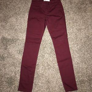 Tillys maroon jeans